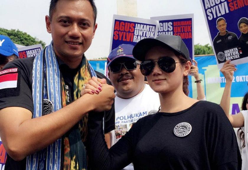 Calon Gubernur nomor urut 1, Agus Yudhoyono