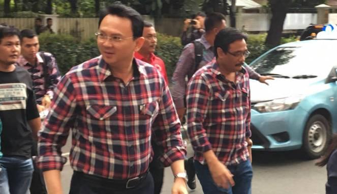 Gubernur DKI Ahok dan Wakilnya Jarot