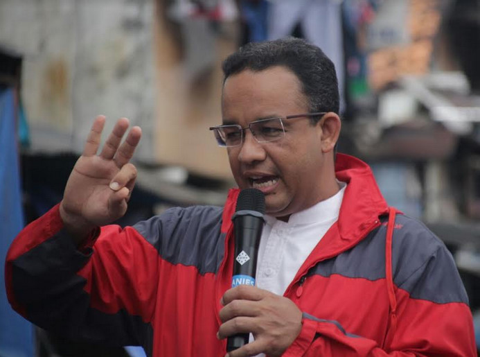 Cagub DKI Jakarta Anies Baswedan