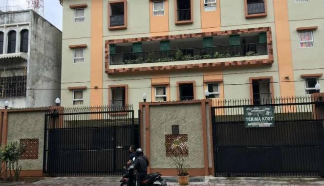Tempat kos-kosan mewah Gili Residende Taman Sari, lokasi OTT KPK terhadap Patrialis Akbar.
