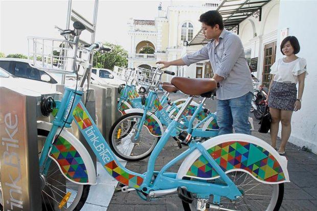 Sewa sepeda distasiun terdekat buat pengunjung/ TheStar
