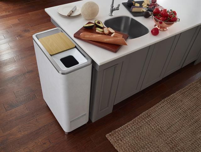 """""""Whirlpool Zera"""" Food Recycler alat pengolah sisa makanan menjadi pupuk dirumah"""