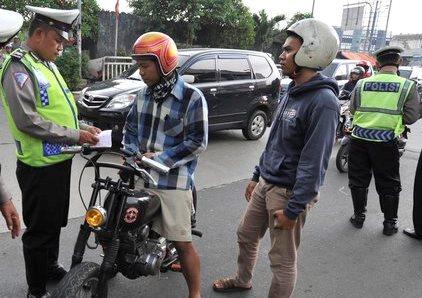 Razia besar-besaran mulai besok 1 Maret, akan digelar oleh Kepolisian Negara Republik Indonesia (Polri) melalui Korps Lalu Lintas akan menggelar Operasi Simpatik. (istimewa)