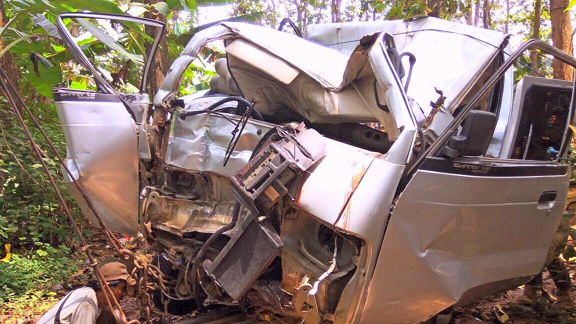 Kecelakaan di Jalur Pantura, Batang, Jawa Tengah. (RB)