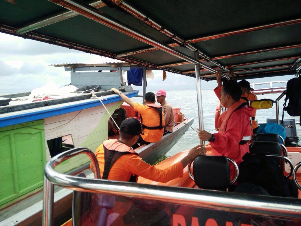 Evakuasi Nelayan. (ds)