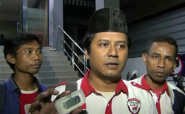Ketua Pemuda LSM LIRA, Indra Lesmana