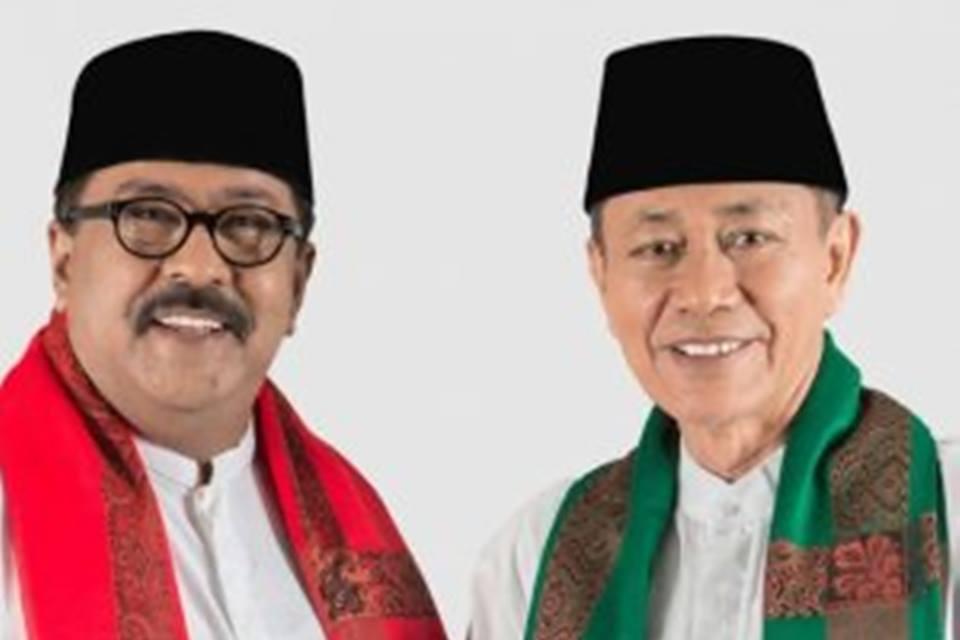 pasangan Rano Karno dan Embay Mulya Syarief mengaku tidak ingin mendeklarasikan kemenangan Pilkada Banten berdasarkan hasil penghitungan cepat, tapi secara teoritis yakin menang.