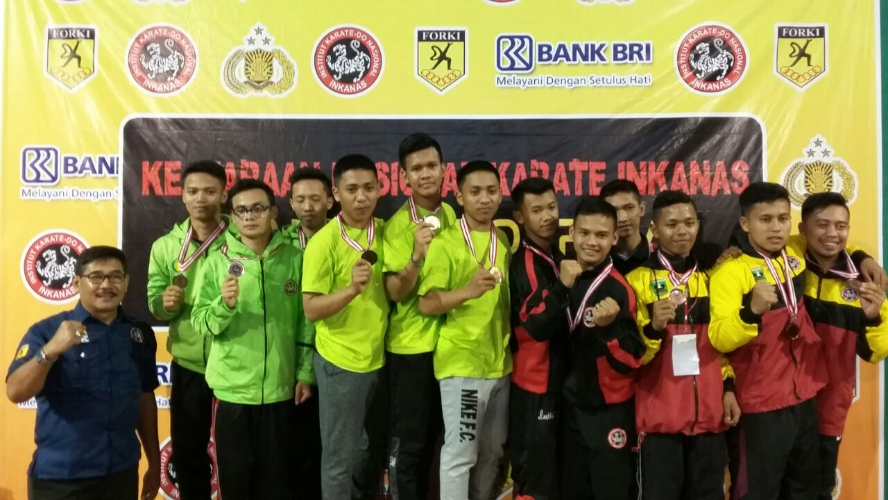 hari kedua ini kontingen Inkanas DKI Jakarta  masih menduduki klasemen teratas di Kejurnas Kapolri Cup 2017, di Semarang.