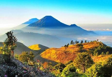 Gunung Prau Dieng Wonosobo : foto istimewa