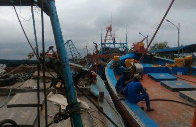 Lima kapal berbendera Vietnam ditangkap kapal Patroli hiu 11