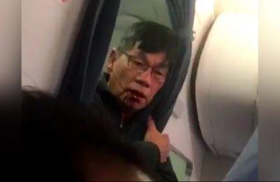 United Airlines menyeret penumpang akibat kesalahan overbooked