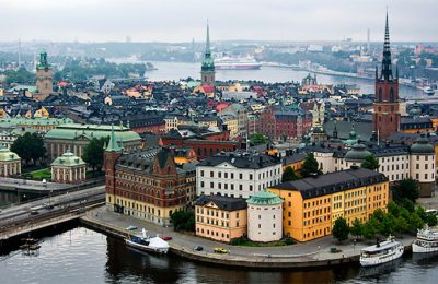 Suasana sudut Kota Helsinki, Ibu Kota Finlandia. (foto: istimewa)