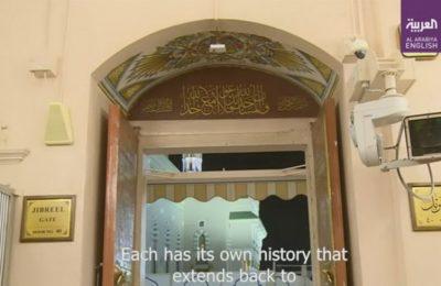 Pintu Jibril Mesjid Nabawi