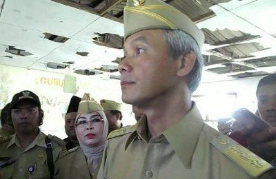 Gubernur Jawa Tengah Ganjar Pranowo. (foto: aep)