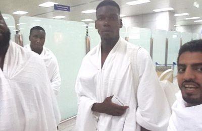 Paul Pogba jalani umrah ke Mekah uicapkan syukur atas musim ini/ Marwan Ahmed