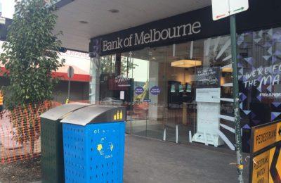 Salah satu gerai Melbourne Bank