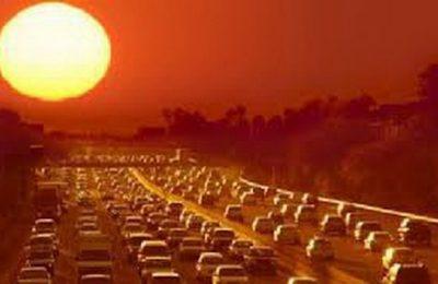 Gelombang panas menyapu membuat manusia seperti dipanggang