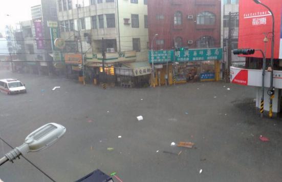 Angin topan, hujan deras dan listrik padam/ Focus Taiwan