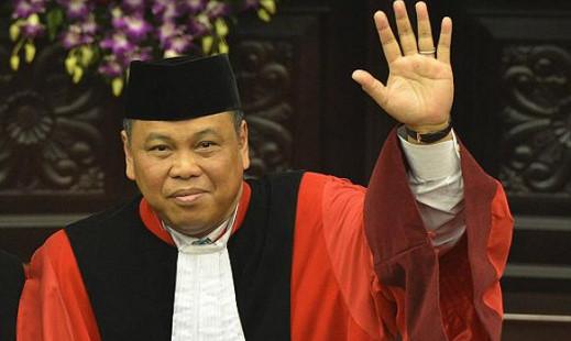 Arief Hidaya, Ketua Mahkamah Konstitusi periode 2017-20120 (foto. istimewa)