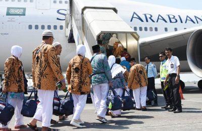 Calon Jamaah Haji berangkat menuju Mekkah menunaikan Ibadah Haji. (foto: starberita)