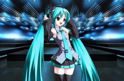 Hatsune Miku animasi digital menjadi popstar industri musik
