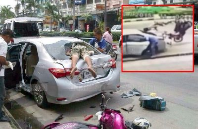 Laka lantas di Thailand ternasuk tinggi dan menakutkan/ Thaisarn