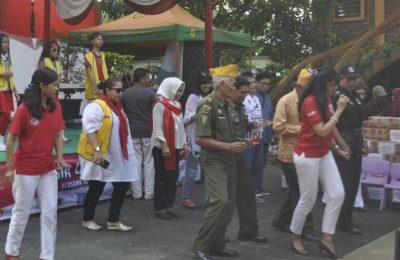 Acara menghibur para anggota LVRI yang digelar di Tangerang Selatan (foto: istimewa)