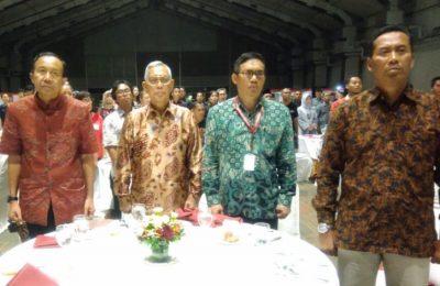 Rektor Universitas Muhammadiyah Malang(UMM) menghadiri malam silaturahmi unit kerja Presiden Pembinaan Ideologi Pancasila (UKP-PIP) di At Lagon Garden,Jakarta, Minggu(20/8).(foto: dok UMM)