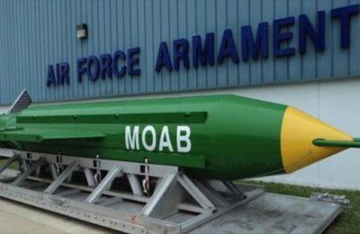 Iran klaim buat bom setara dengan MOAB milik AS