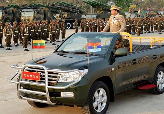 Jenderal Min Aung Hlaing panglima tertinggi junta Militer Myanmar/ FB Jenderal Min Aung Hlaing