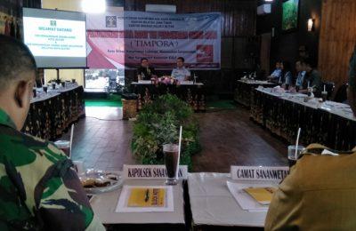 Pengukuhan Timpora Kota Blitar, Jawa Timur. (foto: yos)