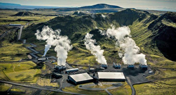 Climeworks geothermal-power plant mampu merubah CO2