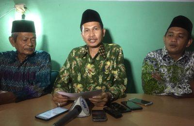 Ketua Nahdlatul Ulama Papua, Toni Wanggai Dalam Keterangan Persnya di Kantor NU Papua. (foto : riy)