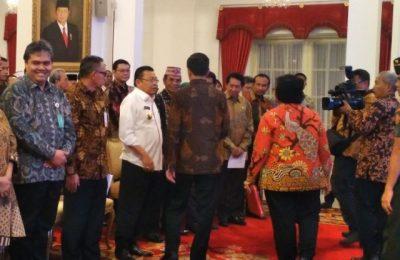 konferensi Tenurial Reformasi Penguasaan Tanah dan Pengelolaan Hutan Indonesia tahun 2017 di Istana Negara, Selasa (25/10), (foto:istimewa)