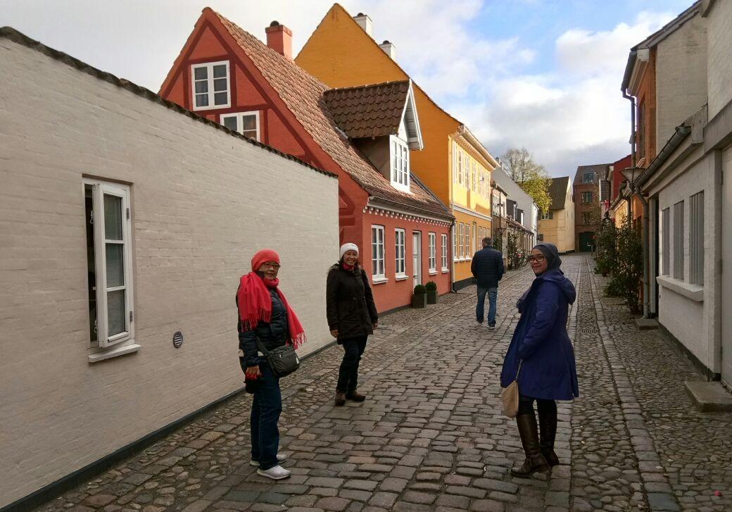 Rumah Hans Christian Andersen dulunya adalah daerah perkampungan padat.