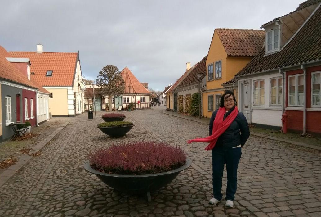 Sekitar 200 tahun lalu, HC Andersens lahir dan menghabiskan masa kanak-kanaknya di rumah mungil di pojok jalan Hans Jensens Straede, sebuah kawasan kumuh nan padat di Odense