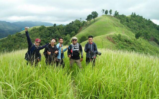 Bukit Bahu, di Dusun Bangau, Desa Majel, Kecamatan Bonti, Kabupaten Sanggau, Kalimantan Barat, menjadi destinasi terbaik, yang tak boleh dilewati saat berkunjung ke Kalimantan Barat.(foto:das)