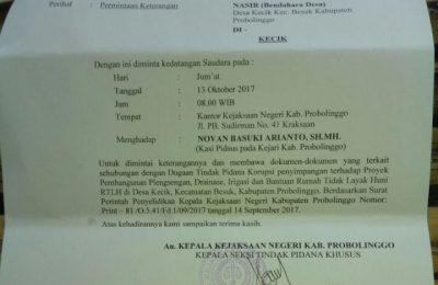Para Kades saat mengikuti pemaparan Kapolres AKBP Sigit Dany Setiyono.(foto:fat)