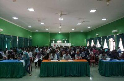 845 orang calon Panitia Pemungutan Suara (PPS) untuk Pemilihan Gubernur-Wakil Gubernur (Pilgub) Jawa Timur. (foto:fat)