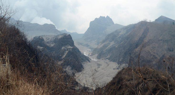 Puncak Gunung Kelud (foto:ist)