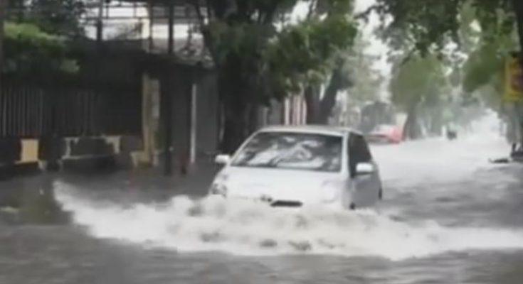 """Banjir di Jakarta (foto""""ist)"""