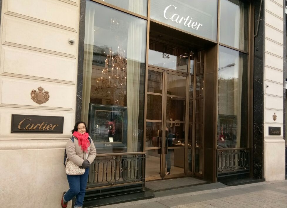 champ elysees cartier