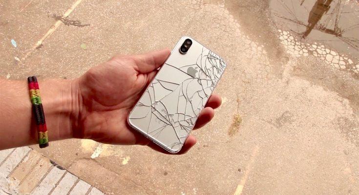 iphone x pecah