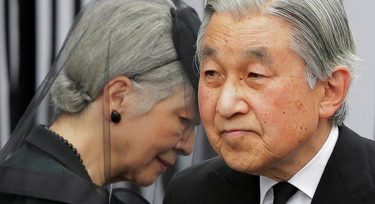 Kaisar Jepang Akihito dan permaisuri/ IB times