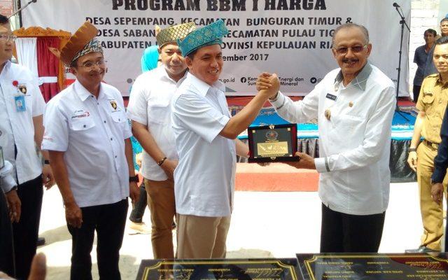 - PT Pertamina (Persero) tambah 2 Stasiun Pengisian Bahan Bakar Untuk Umum (SPBU) di daerah perbatasan pulau terluar (foto:gus)