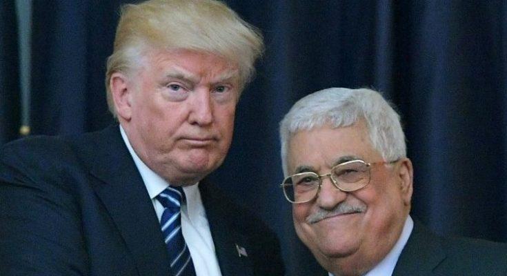 Mahmoud Abbas dan Trump/ Times of Israel