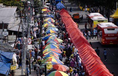 Tenda PKL Tanah Abang