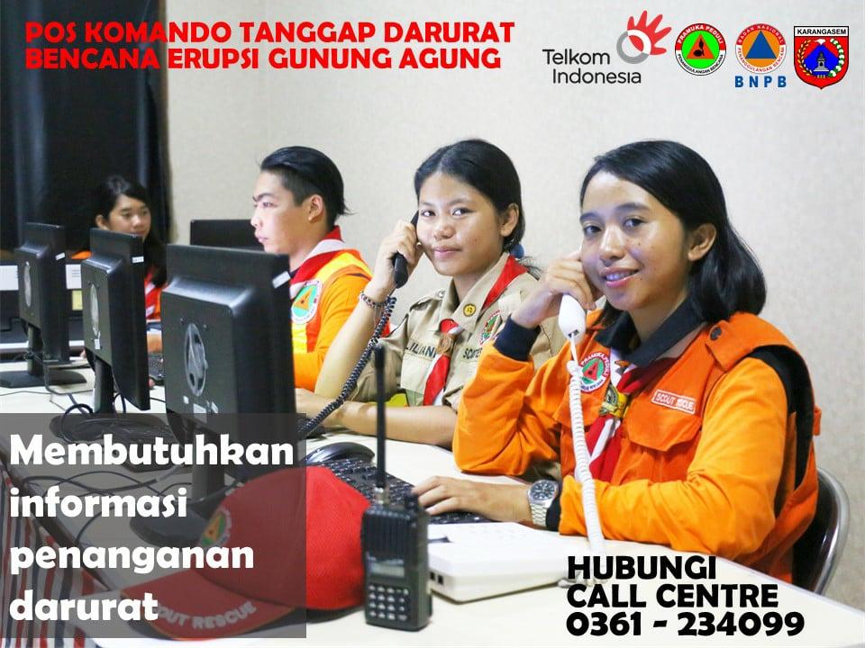 call centre gunung agung