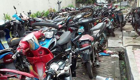 Polsek Taman Sari, Jakarta Barat membongkar komplotan curanmor/ ist