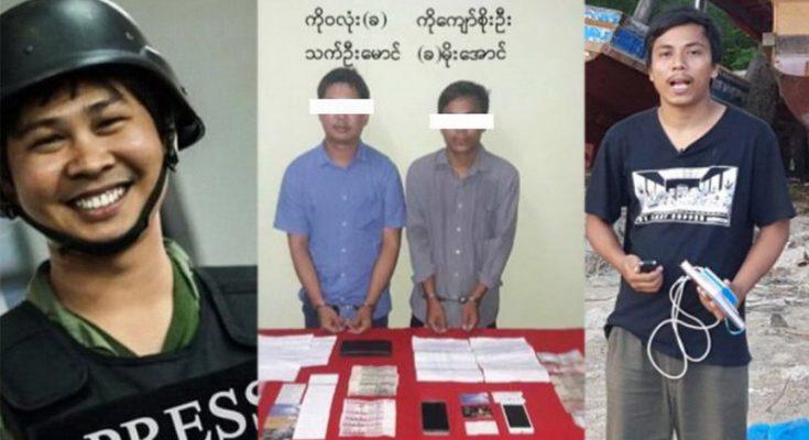 Dua orang wartawan Reuters biro Myanmar ditangkap junta militer/ ist